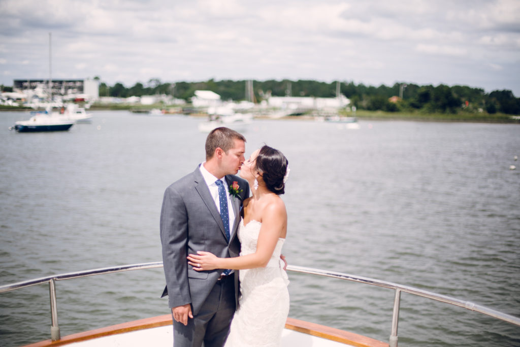 wedding photography yacht wedding