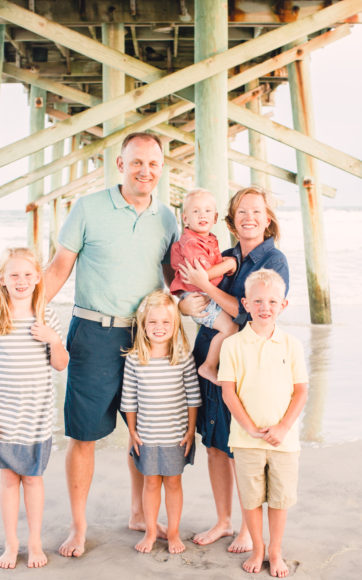 Topsail Island Family Session