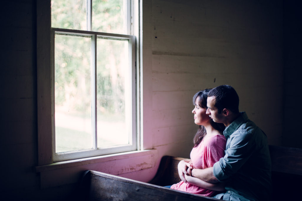 cades cove engagement session