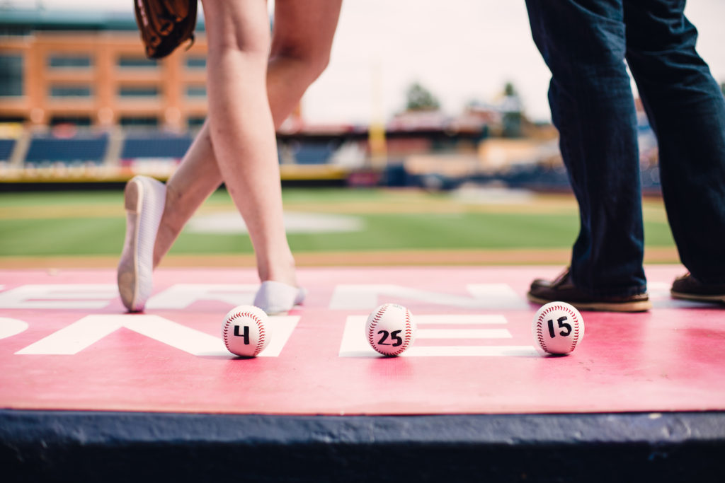 Durham Bulls Engagement session