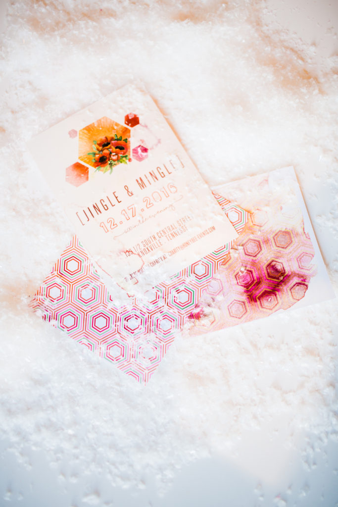 Snow and invitations