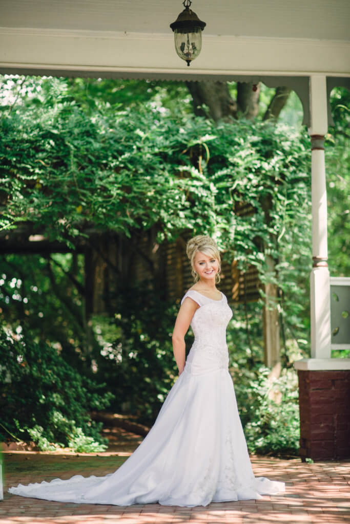Bride at The Gardens at Gray Gables