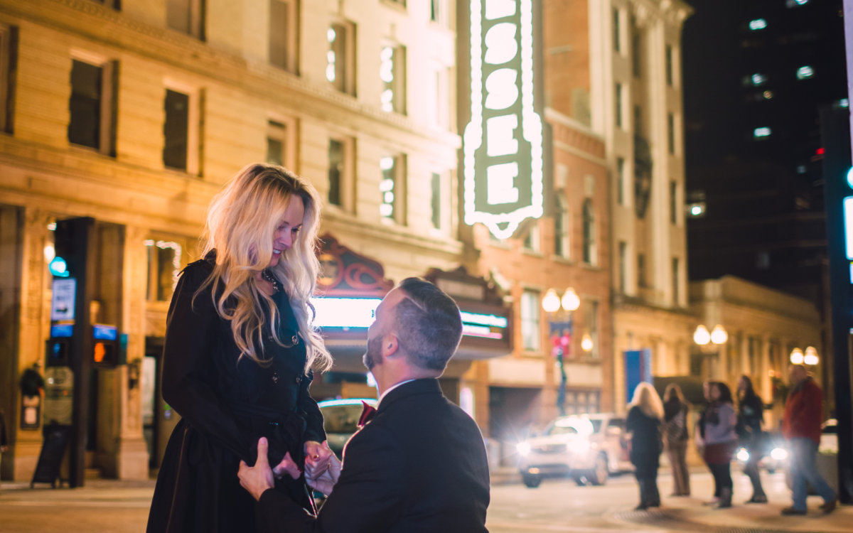 Surprise Engagement Photographer