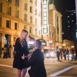 Surprise Engagement on Gay Street Knoxville TN