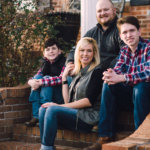 Family Photo session at the Tennessee Valley Winery