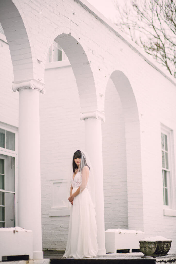 Bridal session at Bleak House Knoxville