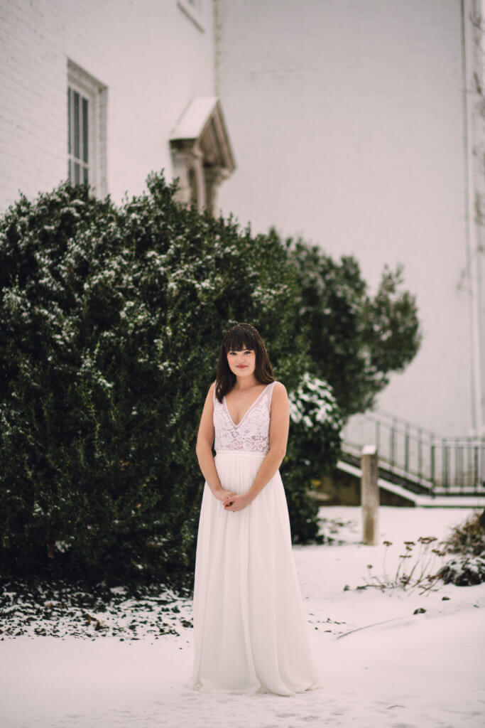 Bride at Bleak House Knoxville Tn