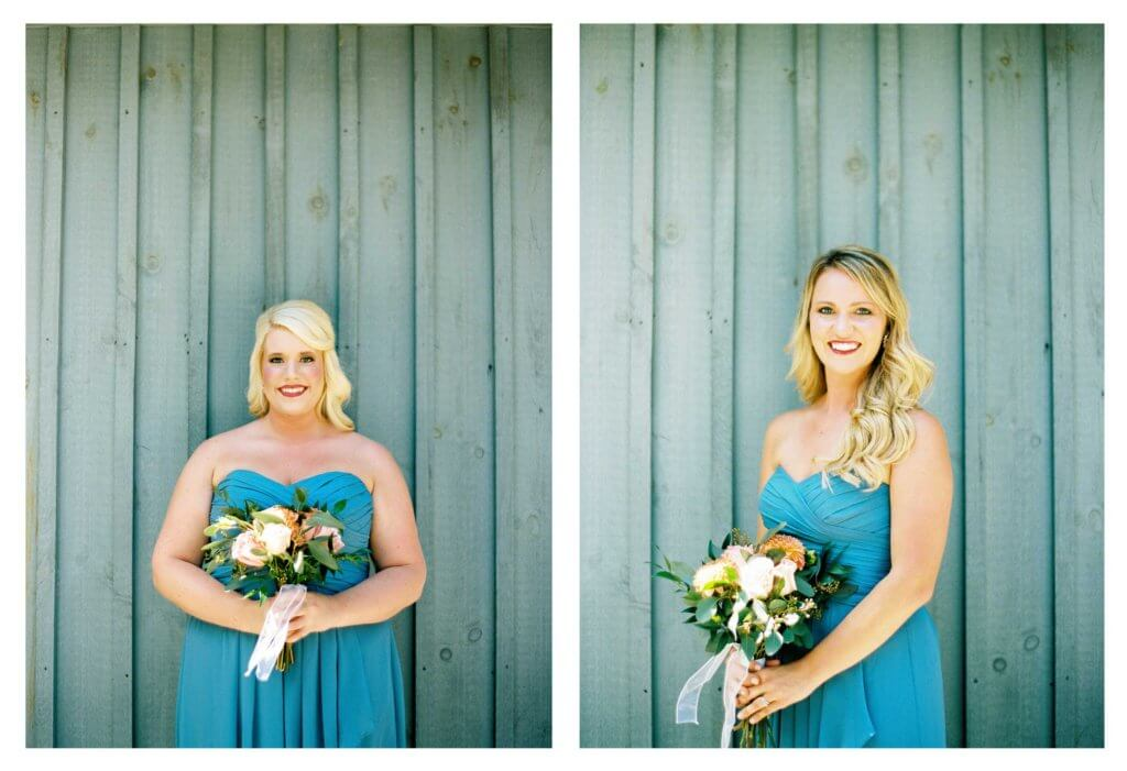 Bridesmaids at Jolo Winery