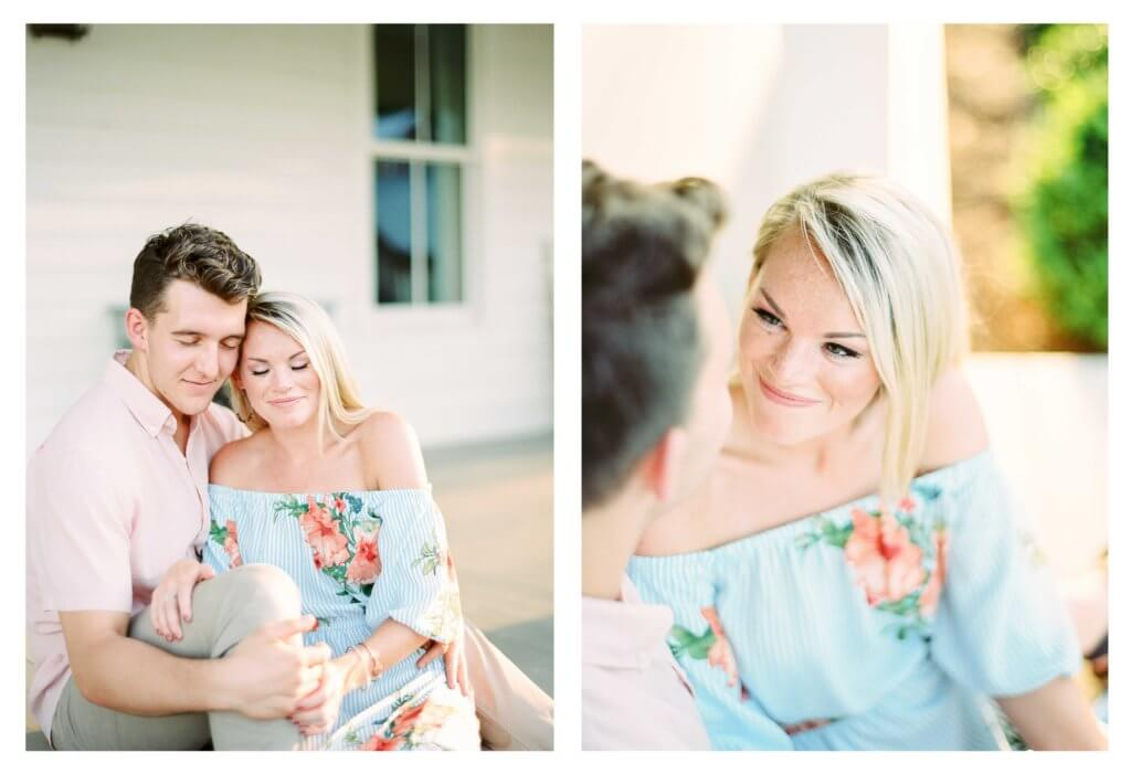 Engagement session in Knoxville Tn