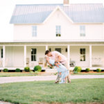 Bride and Groom at Knoxville Wedding Venue