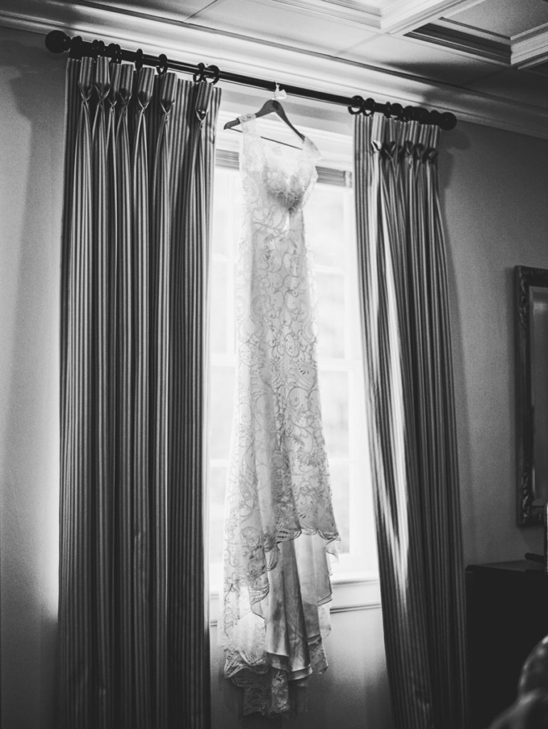 wedding dress at Starmount presbyterian church G