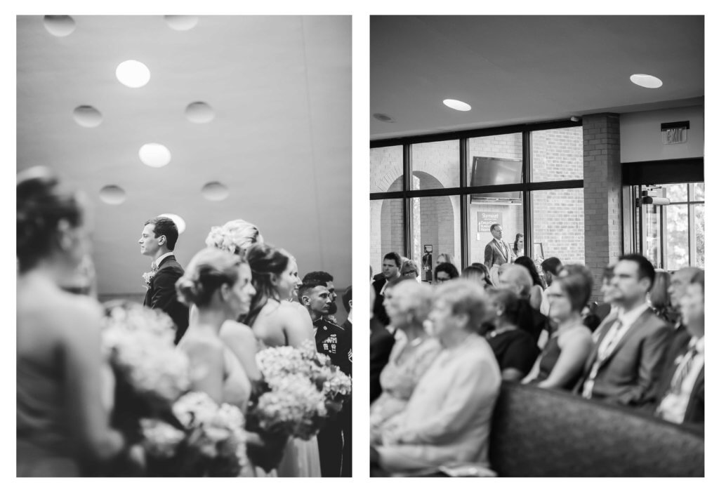 Wedding at Starmount Presbyterian Church Greensboro NC