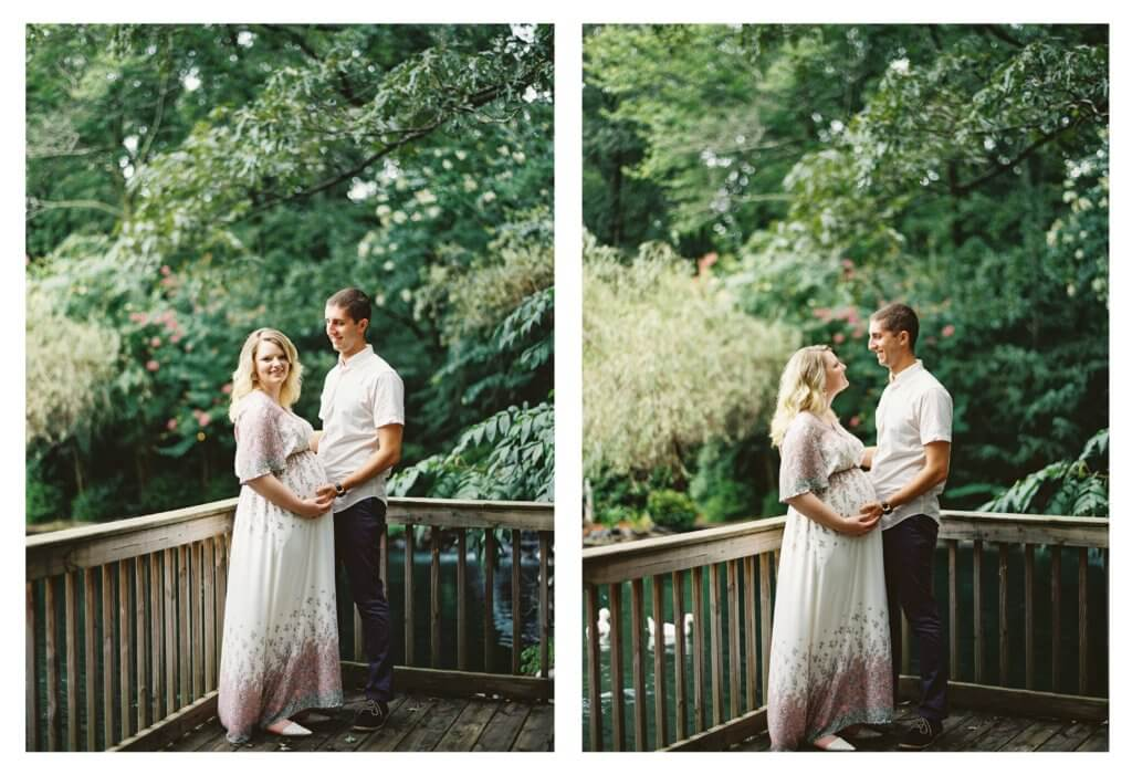 Couple at The Gardens at Gray Gables