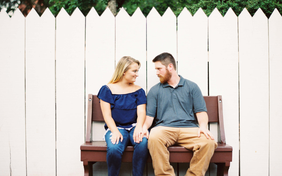 Old Salem Engagement Session