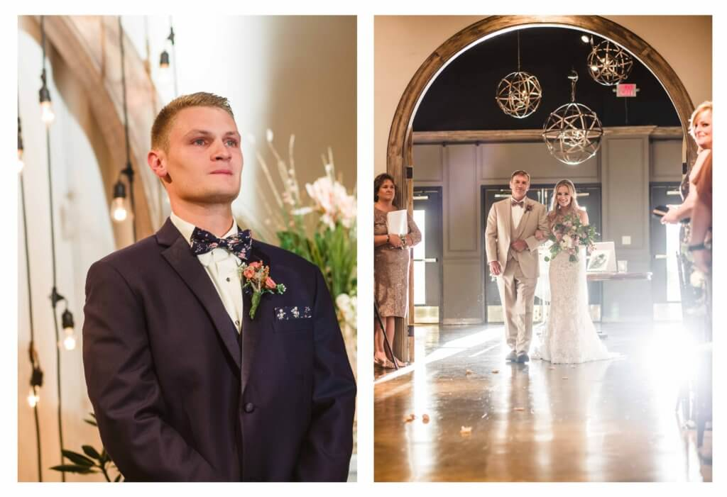 Groom at villa de l'amour in high point nc