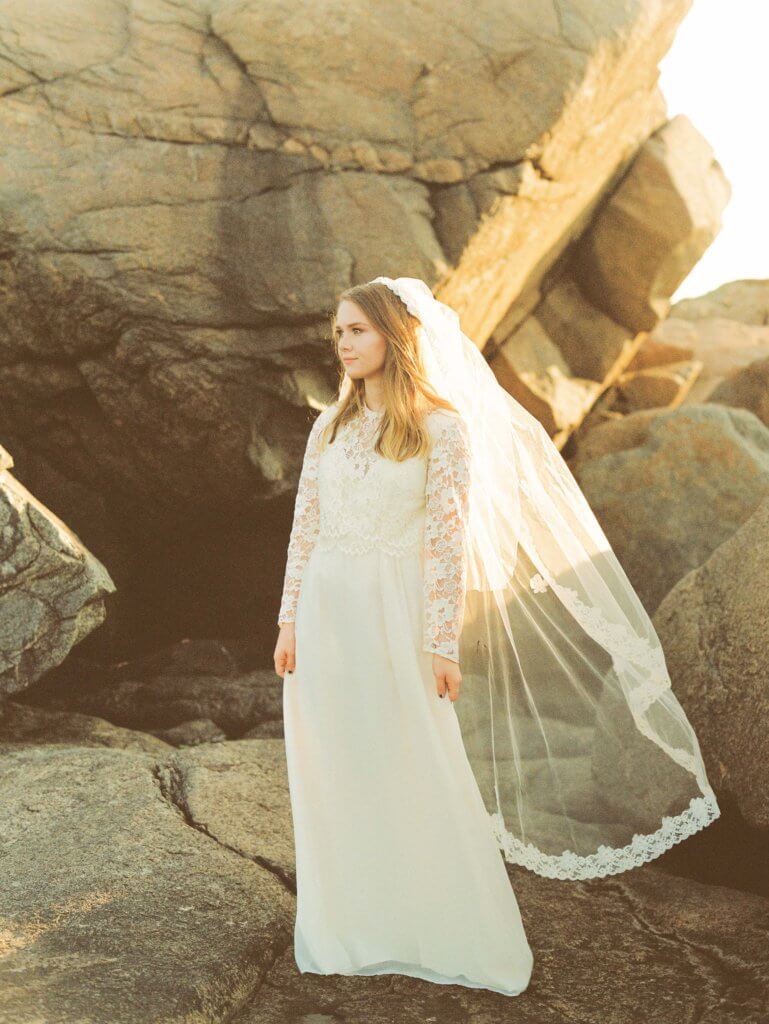 Bride in Gloucester MA