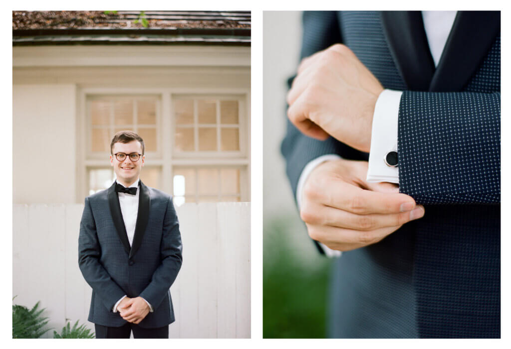 Groom at The Barn At Reynolda Village