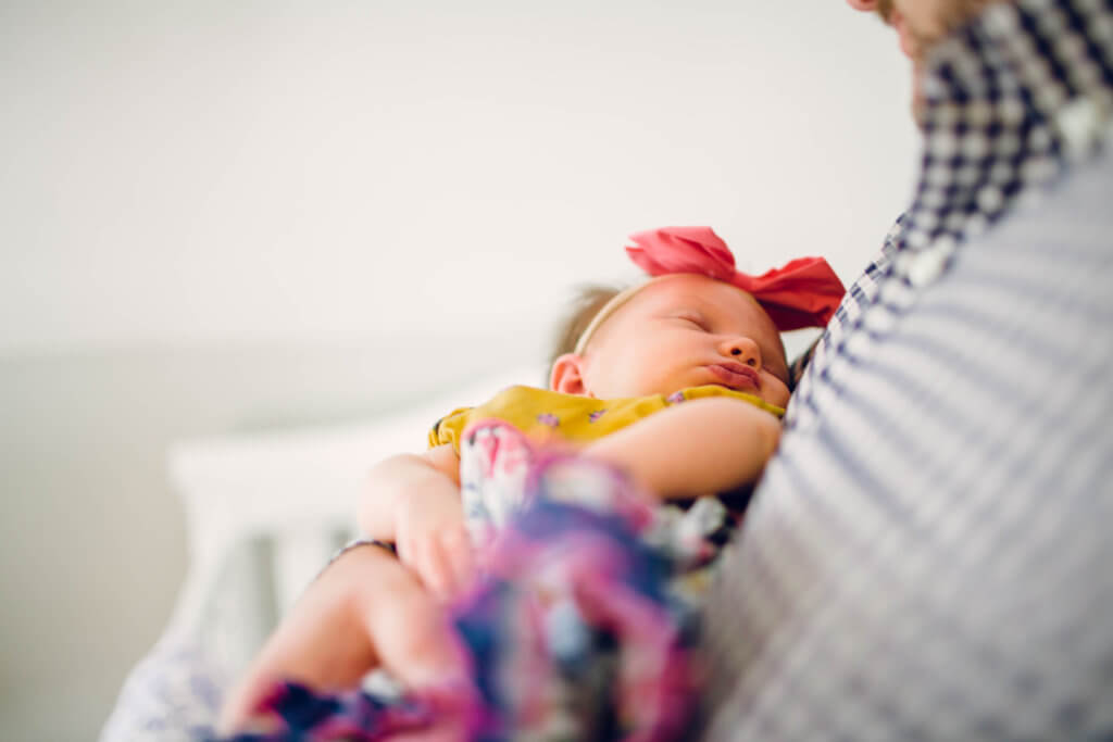 Newborn photo session Knoxville Tennessee