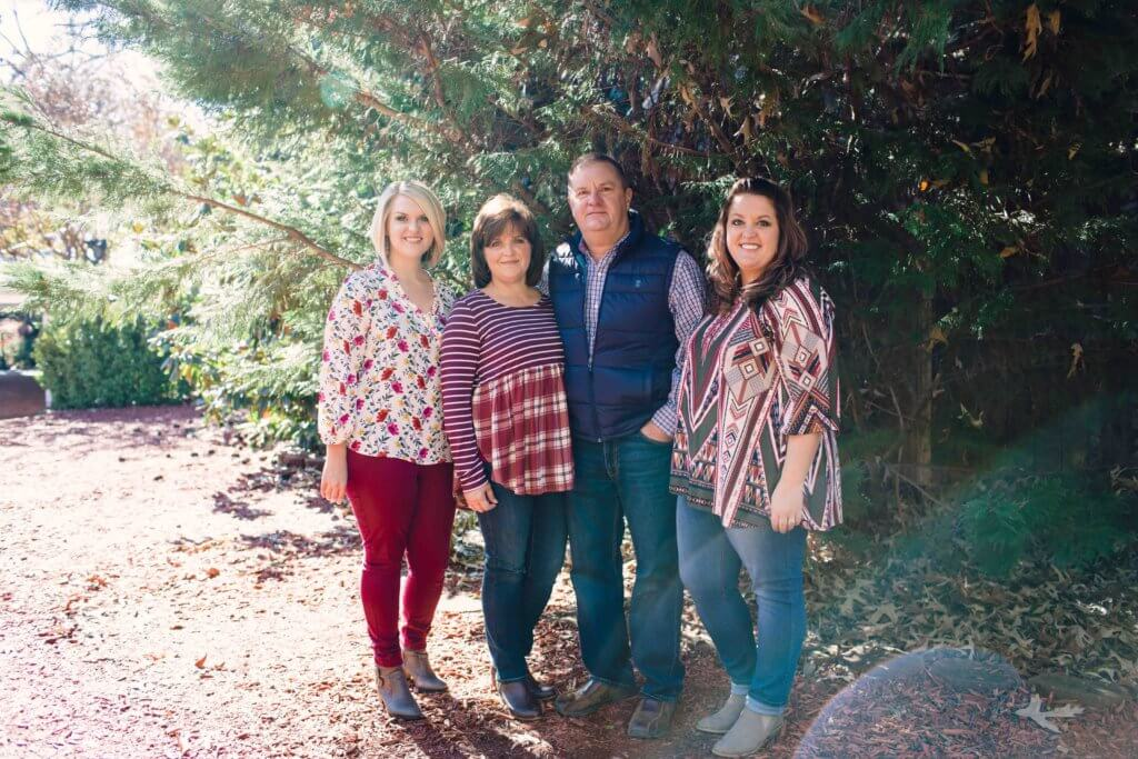 Family Photo Session at The Gardens at Gray Gables