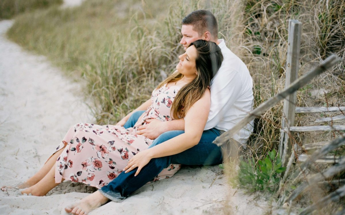 Topsail Island Engagement Photographer