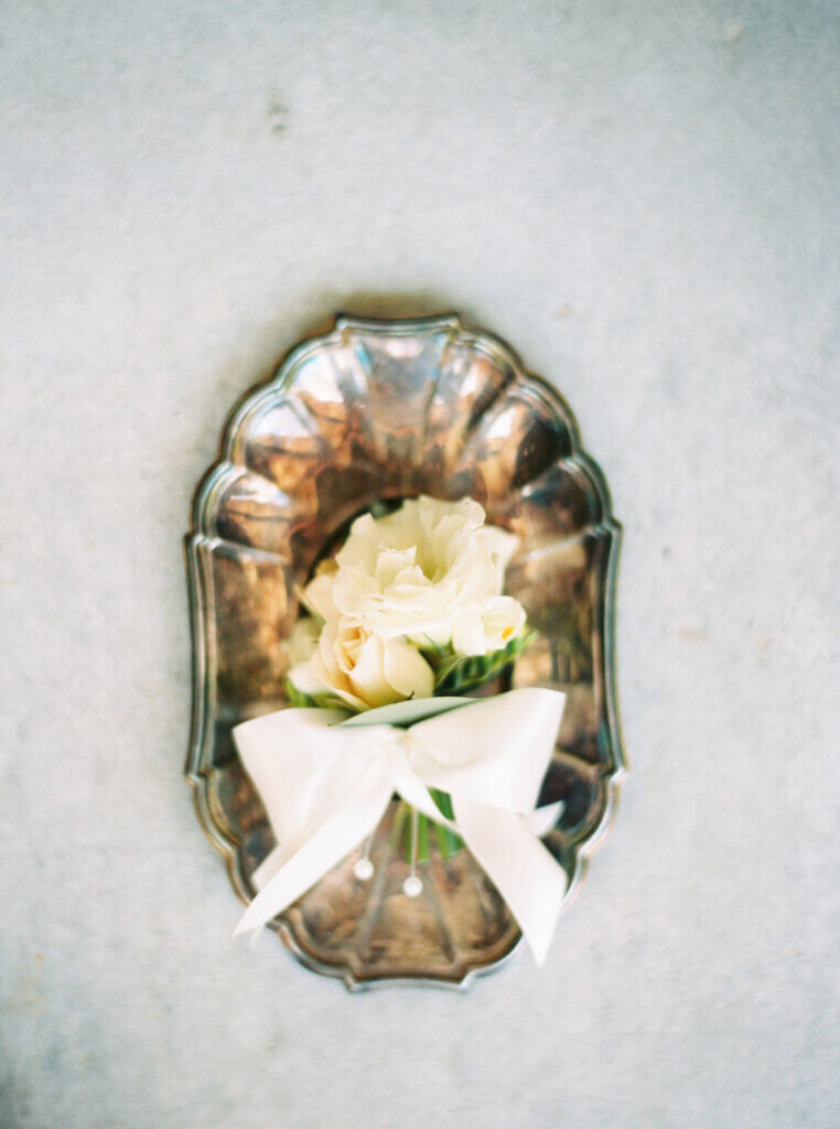 Boutonnière by Green Bee Floral Designs Winston Salem, NC