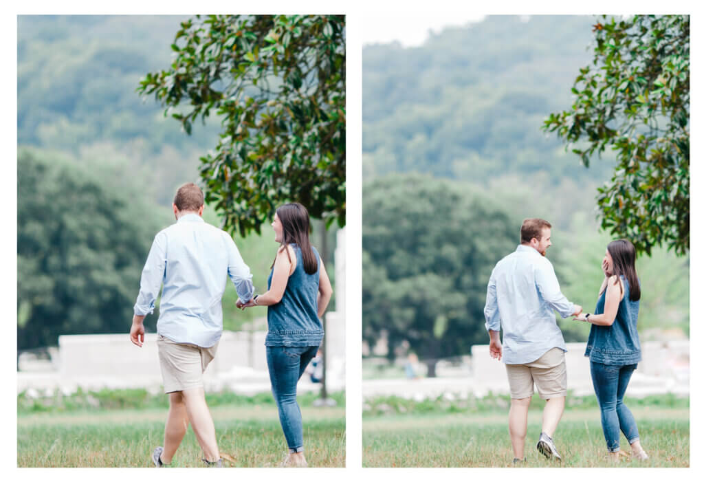 Surprise Proposal at Lakeshore Park Knoxville TN