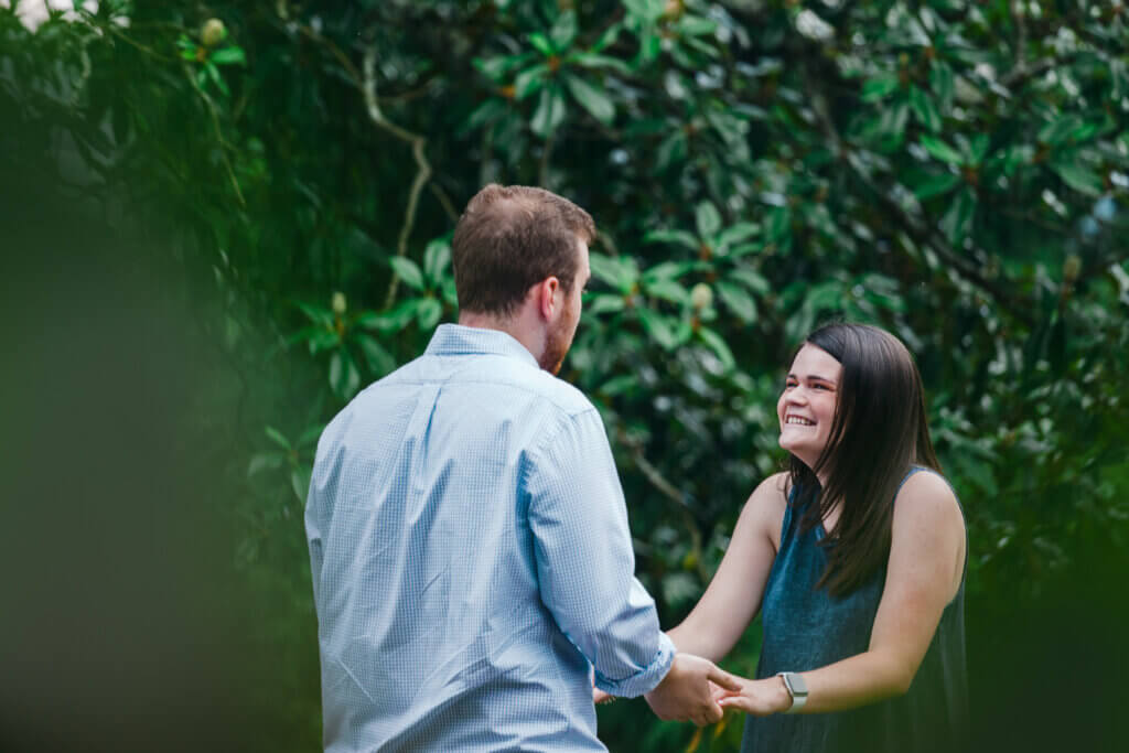 Engagement session at Lakeshore Park Knoxville Tn